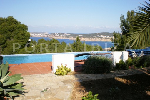 pool & view-cala moli-spacious villa-sea views