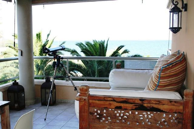 Amazing apartment with first sea line in Playa d´en Bossa