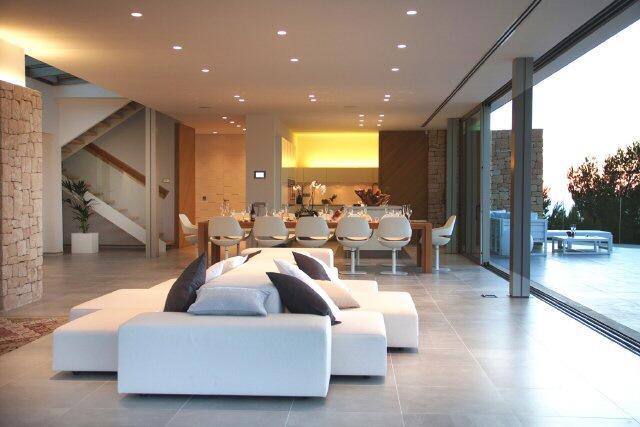villa wohnzimmer:villa wohnzimmer : Villa wohnzimmer modern Spectacular modern villa