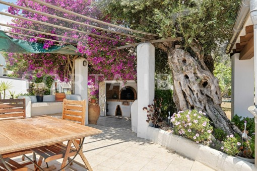 BBQ-nice house-Ibiza