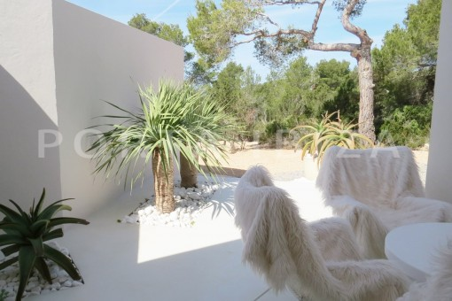 garden-luxury property-fantastic sea views-sunset views-cala tarida