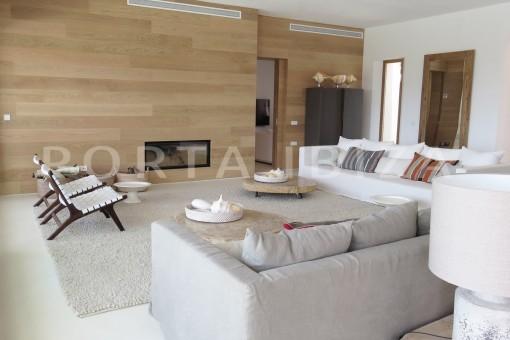 livingroom-luxury property-fantastic sea views-cala tarida
