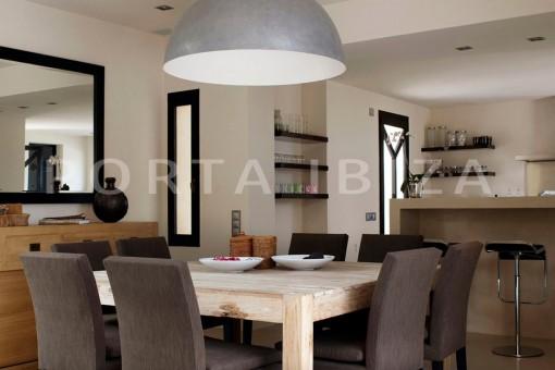 dinner-marvelous villa-calo d'en real-ibiza