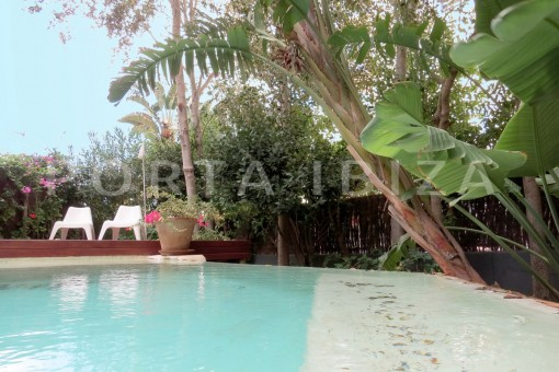 Wonderful apartment with garden and own pool in Botafoch