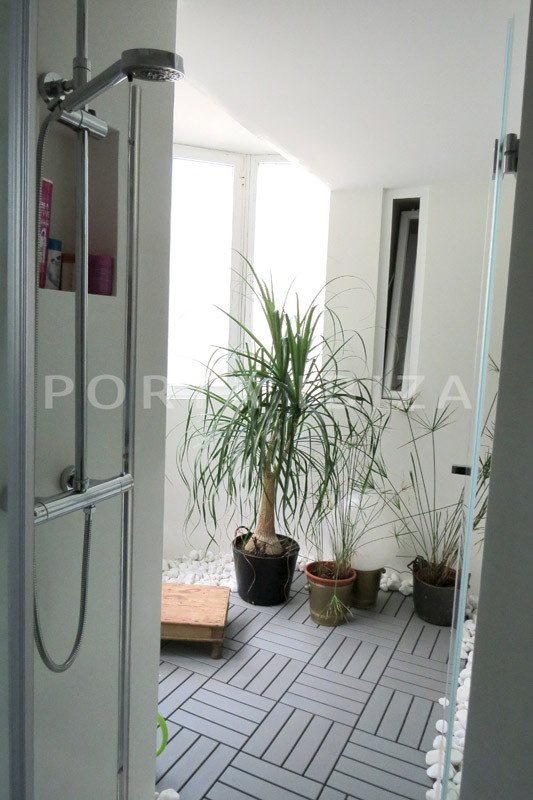 shower-wonderful apartment- Botafoch-Ibiza