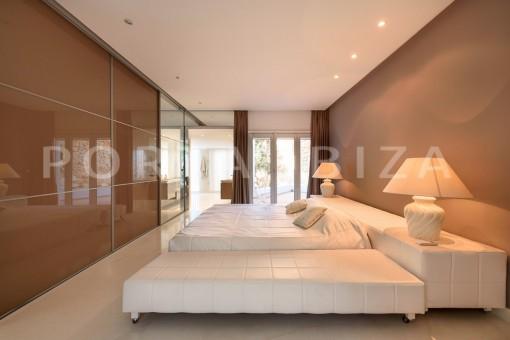 bedroom2-unique property-private sea access-fabulous views