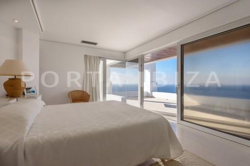 bedroom3-unique property-private sea access-fabulous views