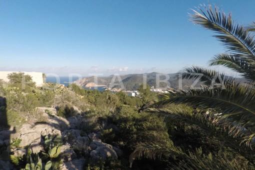 bedroom view-wonderful modern villa-magnificent setting-Na Xamena