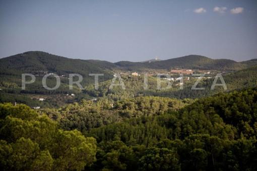 campo view-wonderful modern villa-magnificent setting-Na Xamena