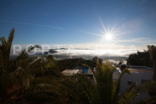 sunrice-wonderful modern villa-magnificent setting-Na Xamena