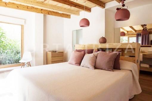 bedroom6-wonderful villa-San José-mediterranean garden