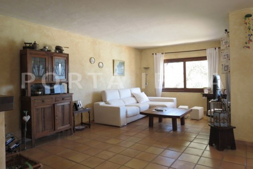 livingroom-high quality country house-Es Cubells-fabulous landscape views