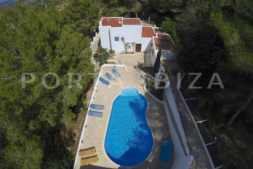 pool area-party house-close to ibiza