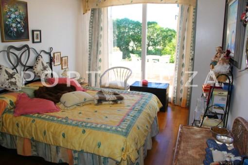 bedroom-beautiful house at Sa Carroca