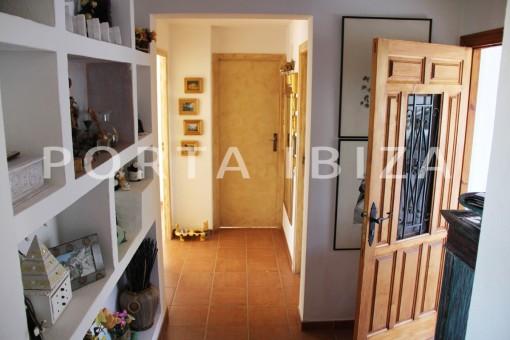 entrance area-beautiful house at Sa Carroca