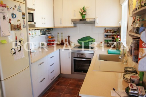 kitchen-beautiful house-Sa Carroca