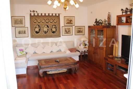 living area-beautiful house at Sa Carroca