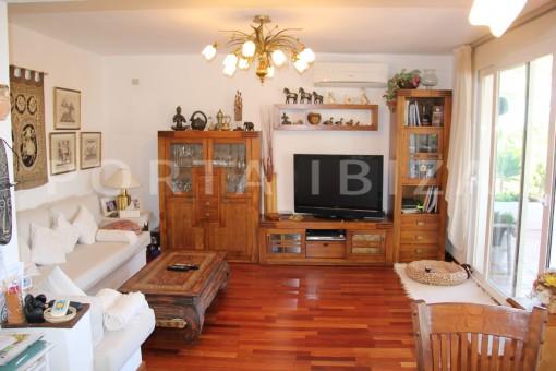living-beautiful house at Sa Carroca