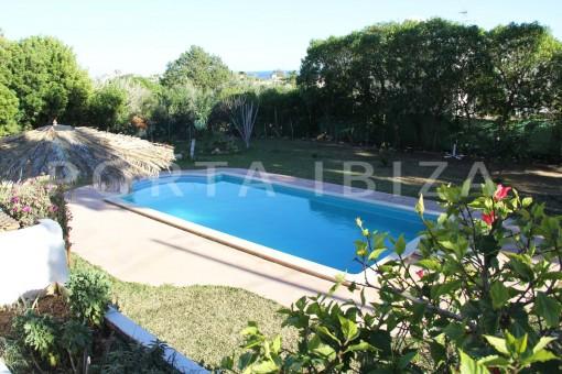 pool area-beautiful house at Sa Carroca