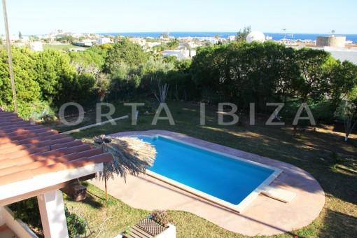 pool area-beautiful house-Sa Carroca