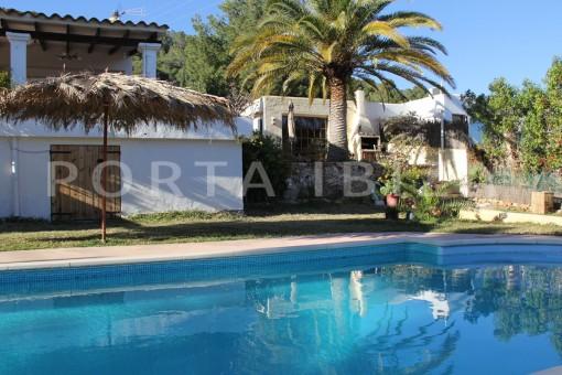 pool-beautiful house at Sa Carroca
