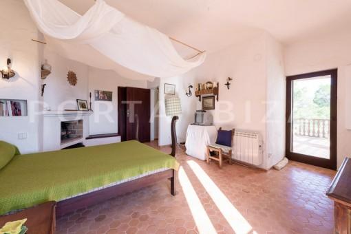bedroom2-incredible property-fabulous panoramic views-Es Vedra