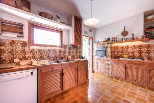 big kitchen-incredible property-fabulous panoramic views-Es Vedra