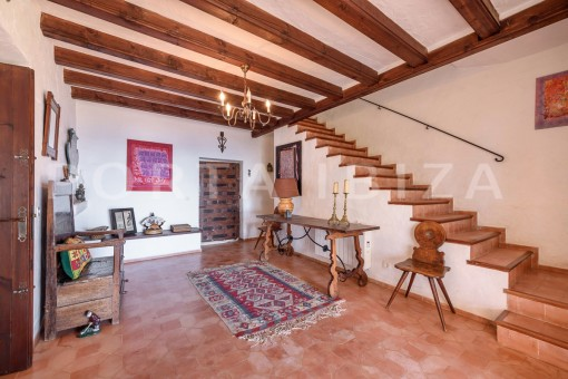 entrance area-incredible property-fabulous panoramic views-Es Vedra