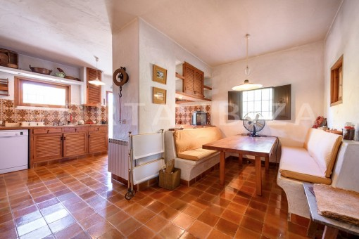 kitchen-incredible property-fabulous panoramic views-Es Vedra