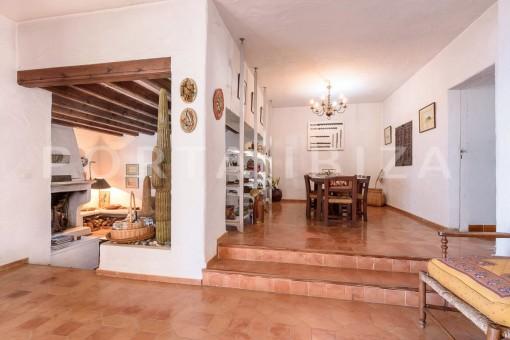living & dinner-incredible property-fabulous panoramic views-Es Vedra