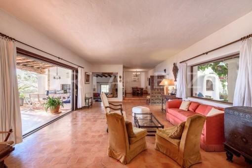 livingroom-incredible property-fabulous panoramic views-Es Vedra