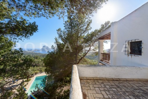roofterraces-incredible property-fabulous panoramic views-Es Vedra