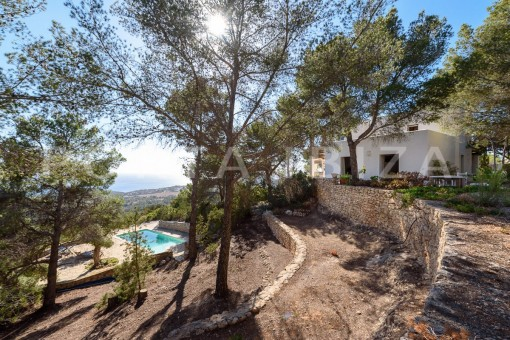 terraces-incredible property-views to Es Vedra