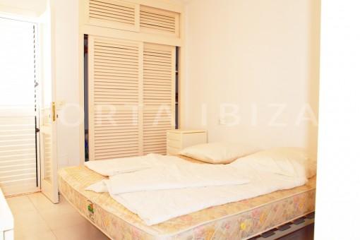 bedroom area-charming house-Cala Codolar-views to Es Vedra