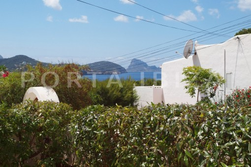 view to Es Vedra-charming house-Cala Codolar