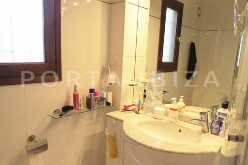 bathroom-wonderful house at Can Germa-great sea view