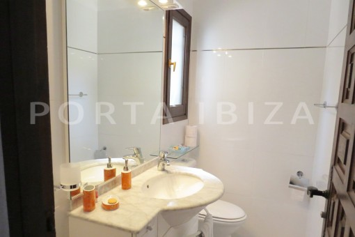bathroom1-wonderful house at Can Germa-great sea view
