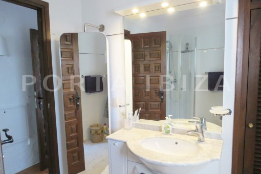 bathroom3-wonderful house at Can Germa-great sea view