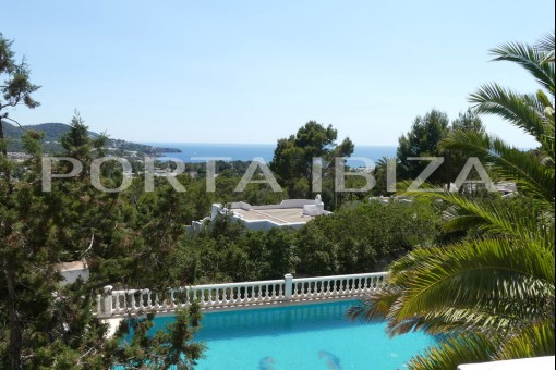 villa cala tarida view