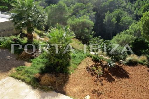 cala vadella house garden