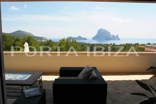 villa es vedra view cala carbo