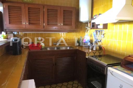 open kitchen san augstin house