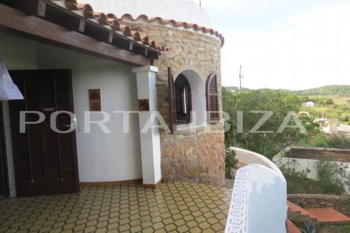 terrace san augstin house