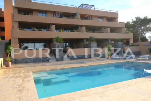 cala carbo apartment front view