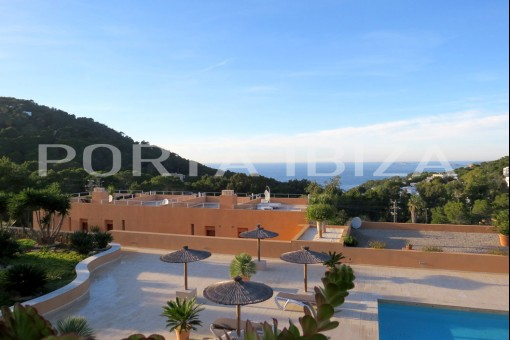cala carbo community pool apartment