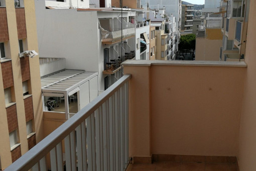 Small balcony of the apartment