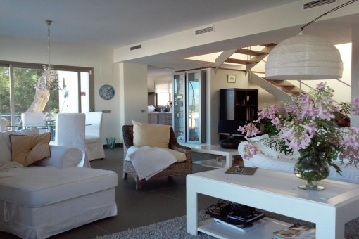 Lovely semi-detached home in 'Roca Llisa' Ibiza
