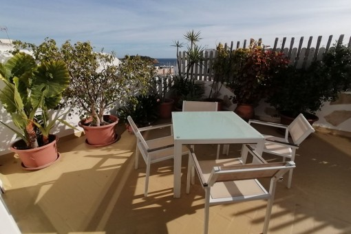 Fabulous penthouse with sea views in the center of Santa Eulalia del Río