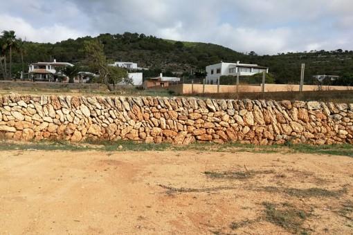 Fantastic natural stone wall