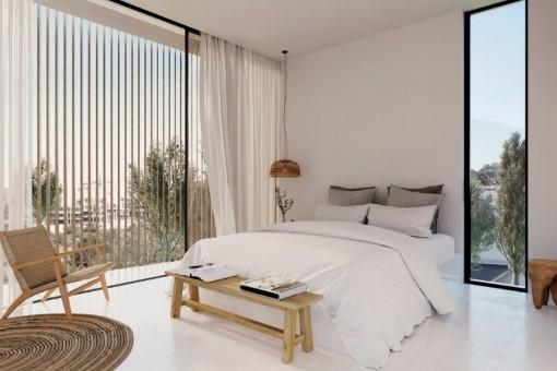 Cozy master bedroom